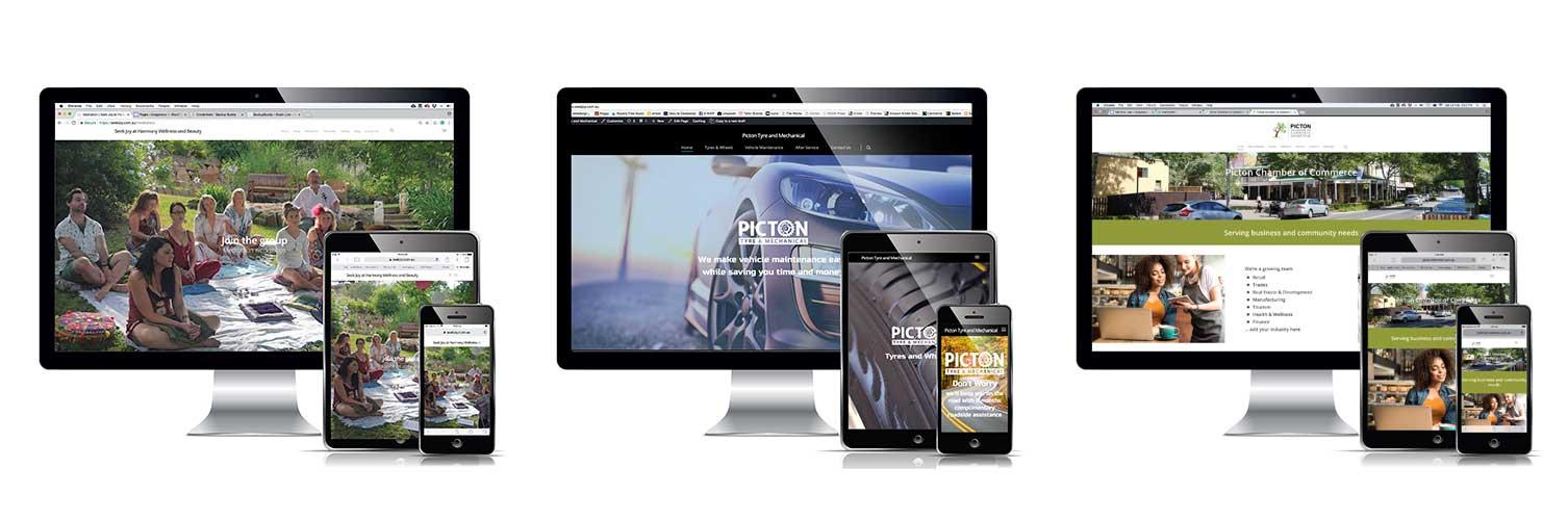 3 website examples
